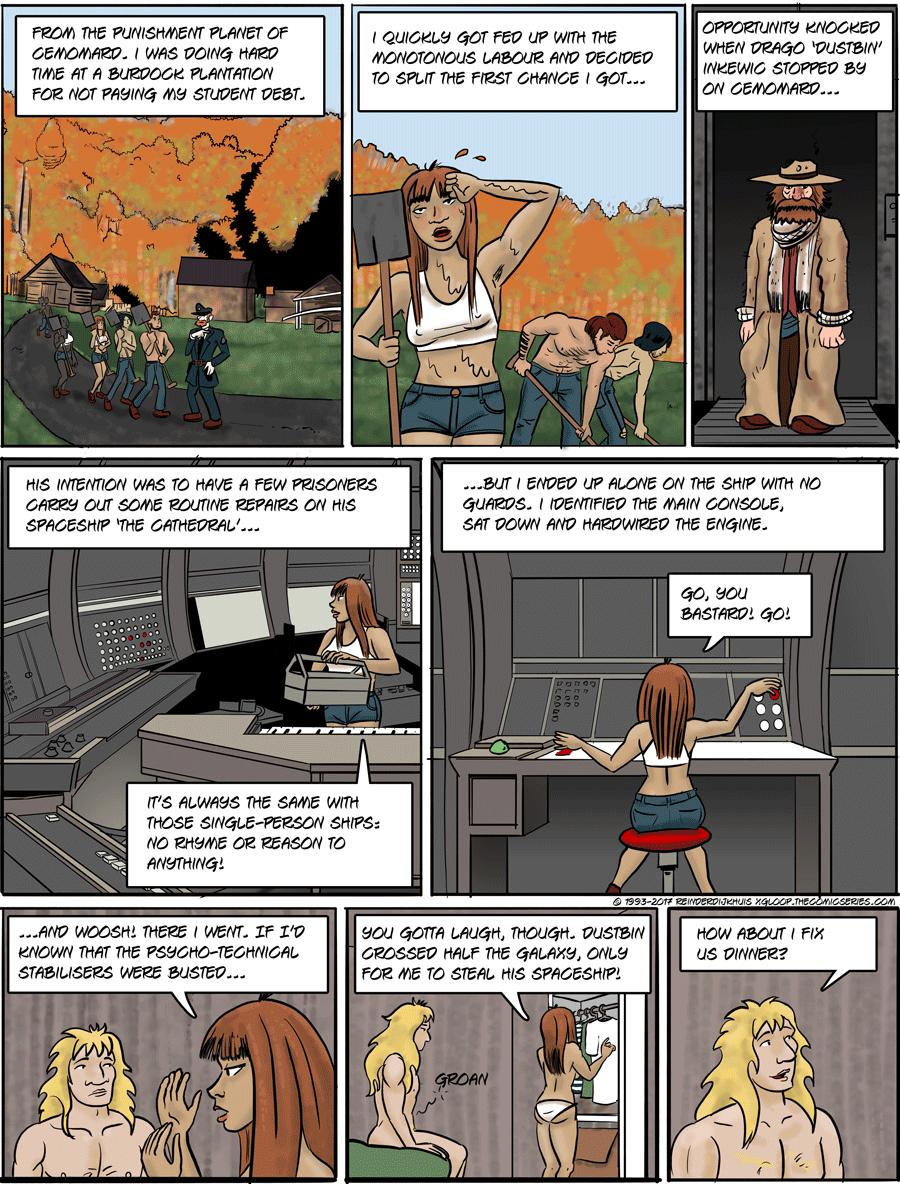 Burdock farming for punishment